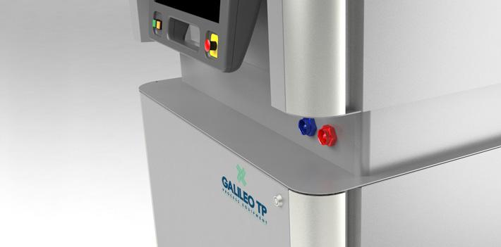 Galileo TP. Armadi per macchinari di impianto